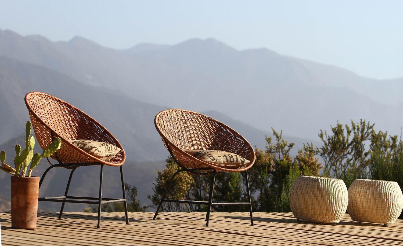 Silla Nido Hecha En Mimbre De Chimbarongo Chairs Pinterest  # Muebles Waak Chimbarongo