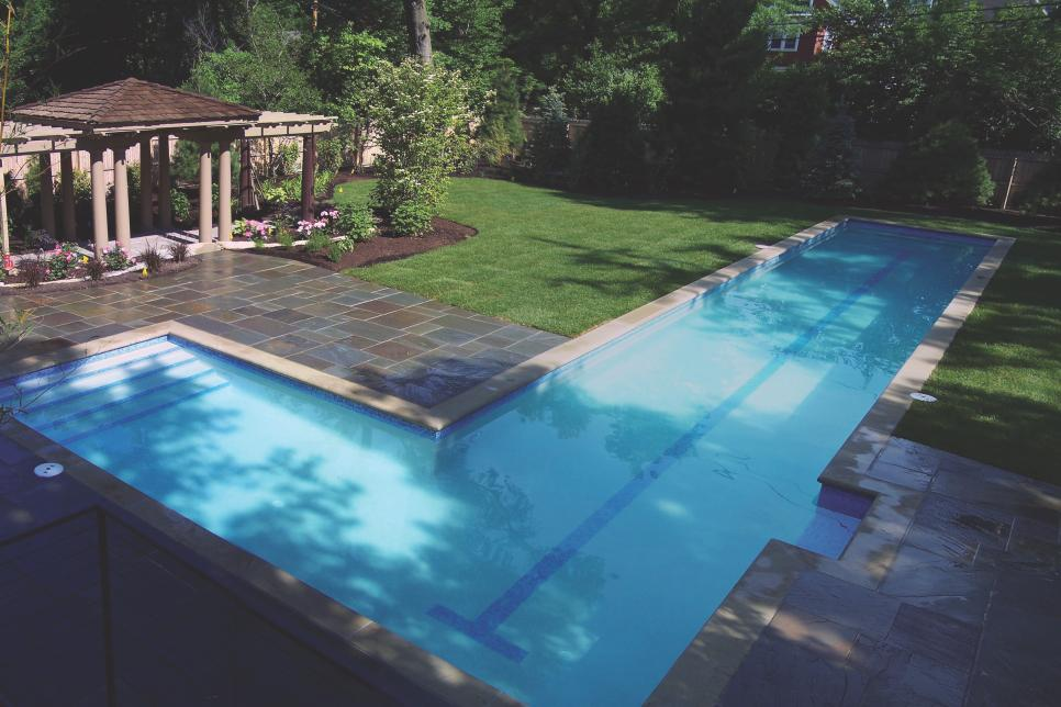 Lap Pools For Narrow Yards Lap Pools For Narrow Yards Lap Pool Designs Lap Pools Backyard Residential Pool