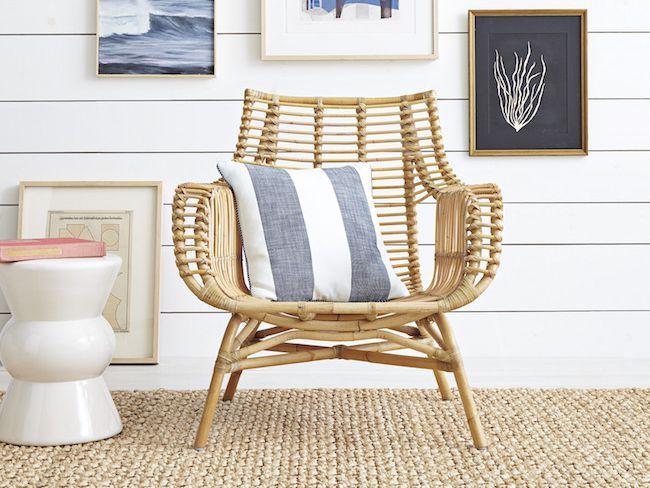 Meubles En Rotin Pour Un Salon Naturel Et Contemporain Cocon De Decoration Le Blog Meuble Rotin Mobilier De Salon Decoration Maison