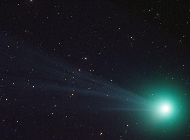 Comet Lovejoy closeup on Jan. 12, 2015