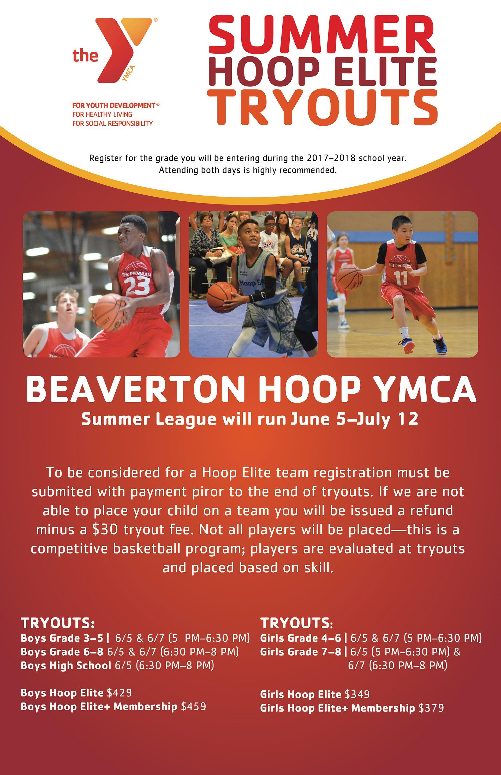 Ymca Of Columbia Willamette Poster Design Hoop Elite Department Basketball Academy Basketball Teams Basketbal Ymca Basketball Academy Soccer Problems