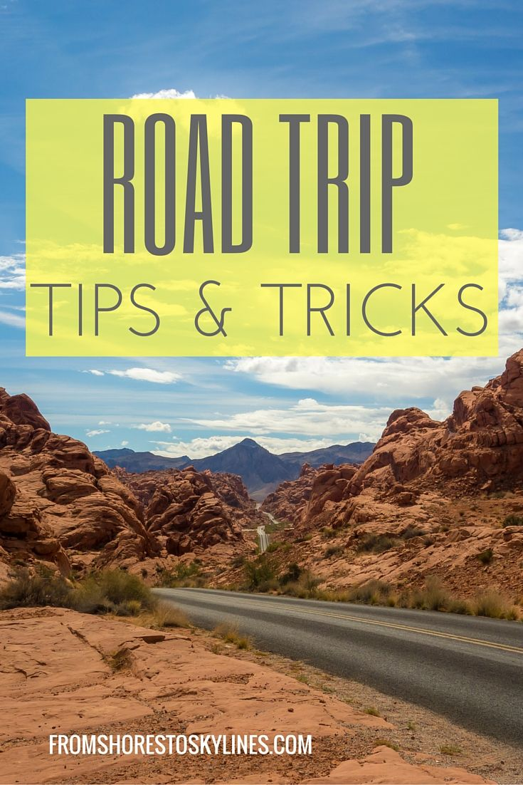 Road Trip Tips and Tricks recommendations