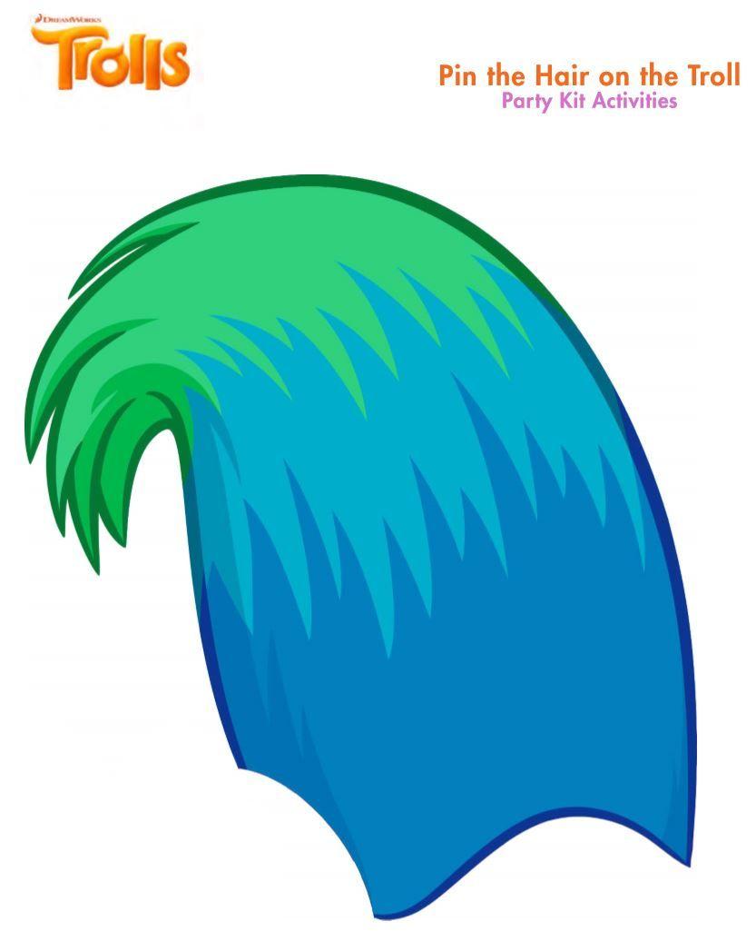 trolls pin hair game free