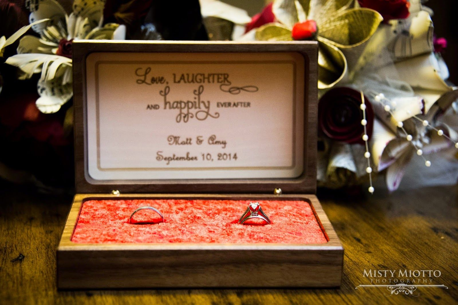 Living the Dream Happily Ever After: Featured Bride- Amy