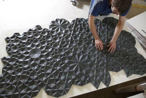 The Casting Floor Unique Tile Inspiration Design