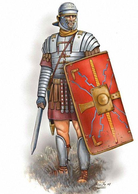"""""""Legionario romano, inicios del s. II dC"""", Ángel García ..."""