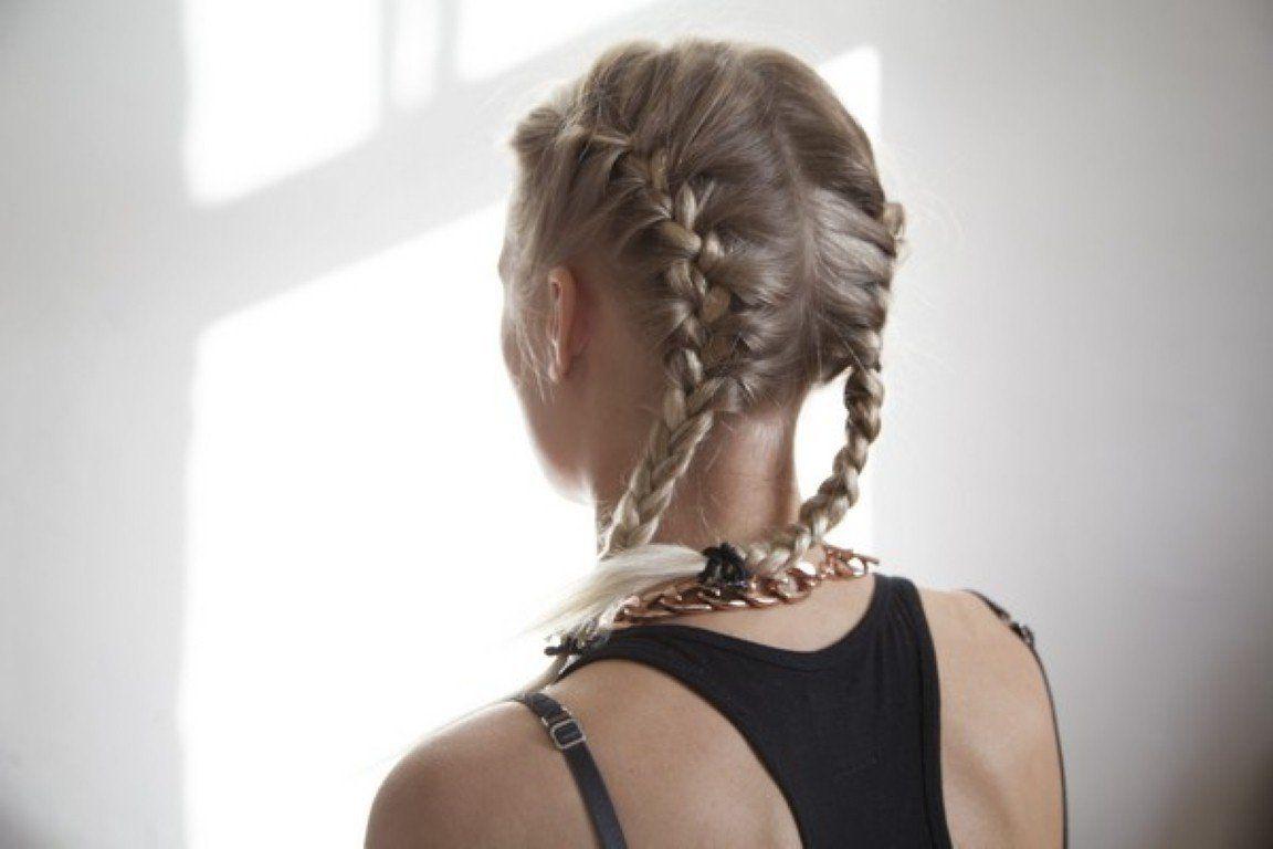 schulterlange haare flechten: 15+ kinderleichte