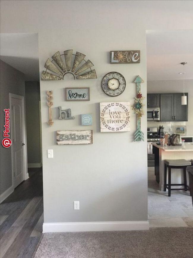 6 Awesome Rustic Farmhouse Diy Design Ideas Entryway In 2019 Pinterest Home Home Decor And Room Wall Decor Esszimmer Wande Bauernhaus Wohnzimmer Dekor Haus Wohnzimmer