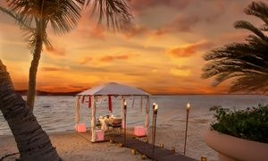 Romantic Dinner On The Beach With Drinks At La Piscine Pool Bar
