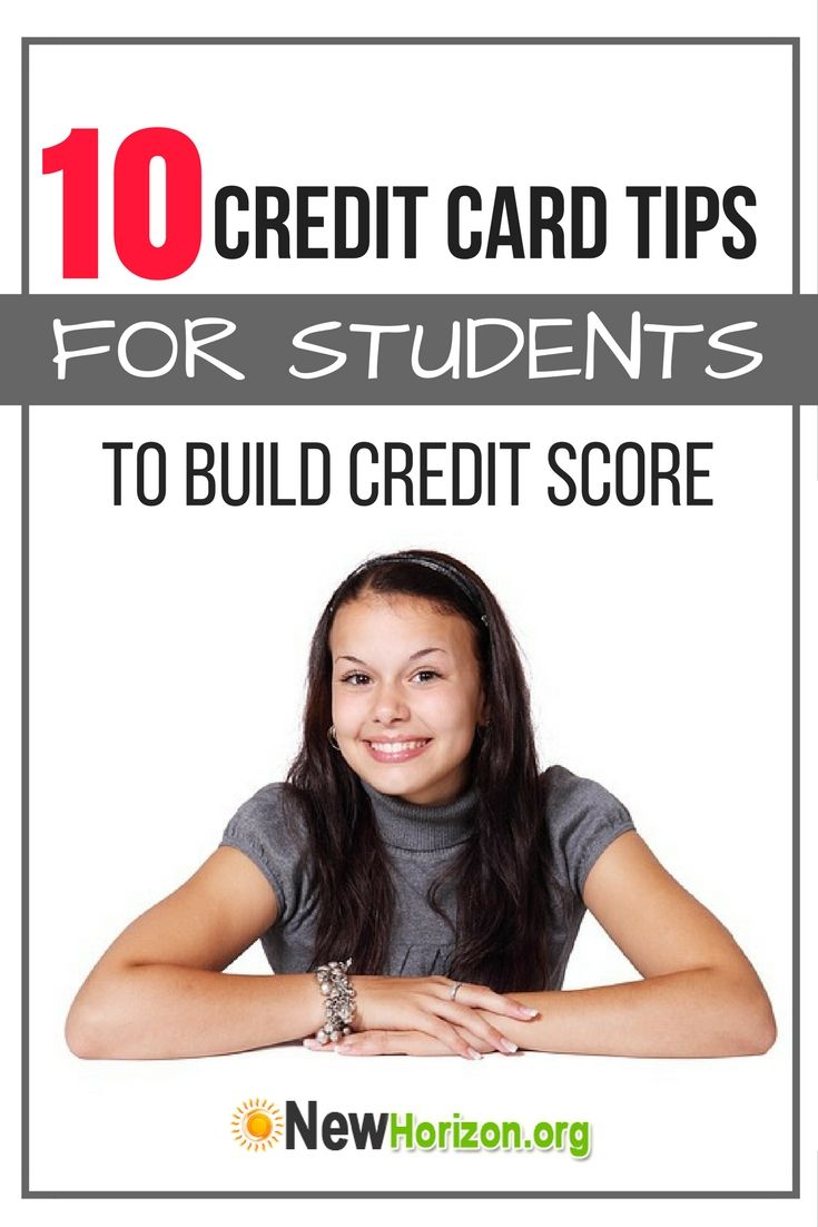 10 Credit Card Tips For Students To Build Credit Score