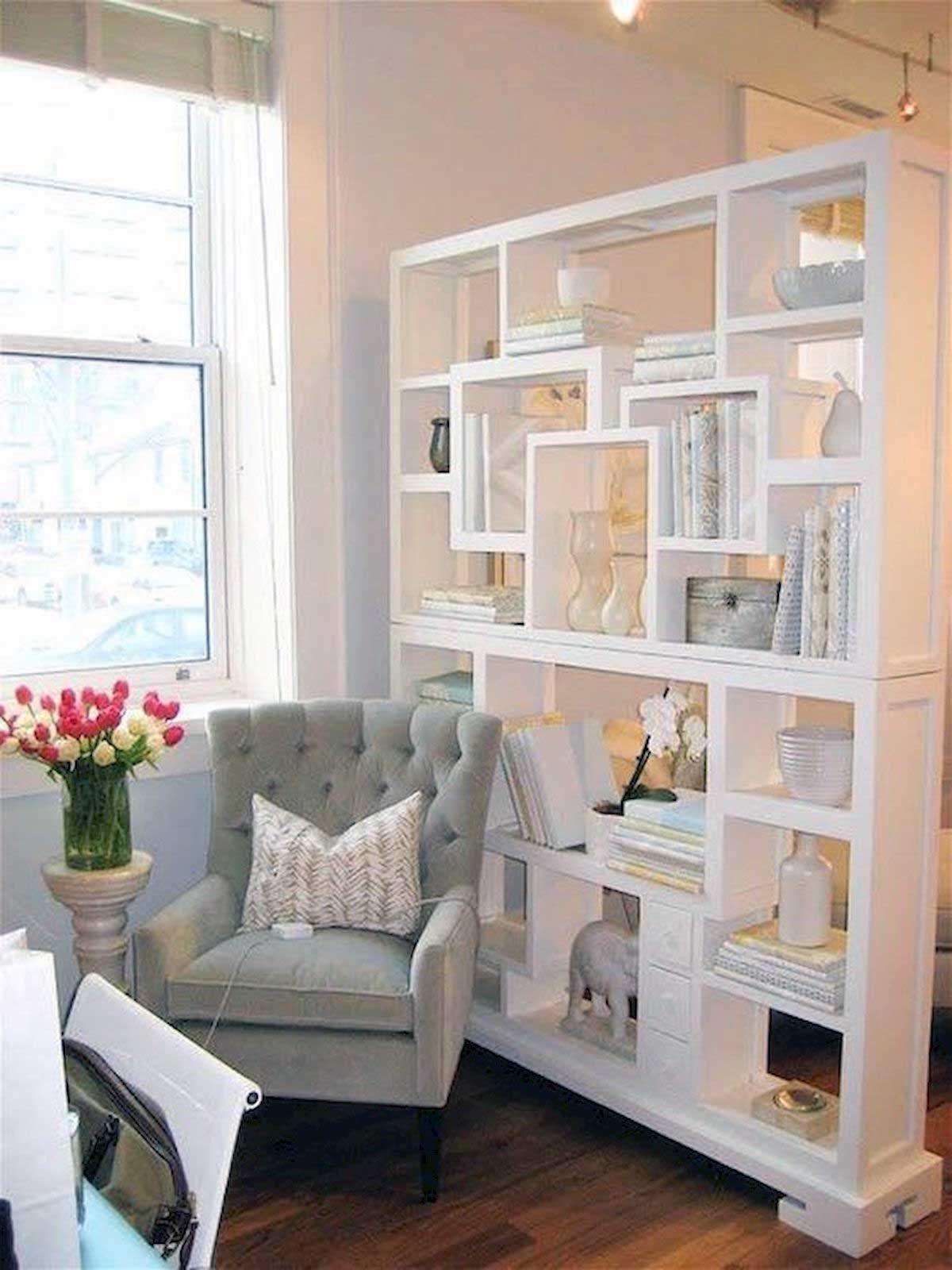 Petit Meuble De Separation 34 studio apartment bedroom divider ideas | meuble