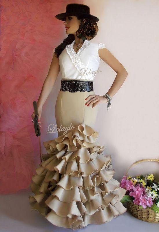 62683f243 LOLAYLO: TRAJES DE FLAMENCA Y FALDAS DE SEVILLANA | All things ...