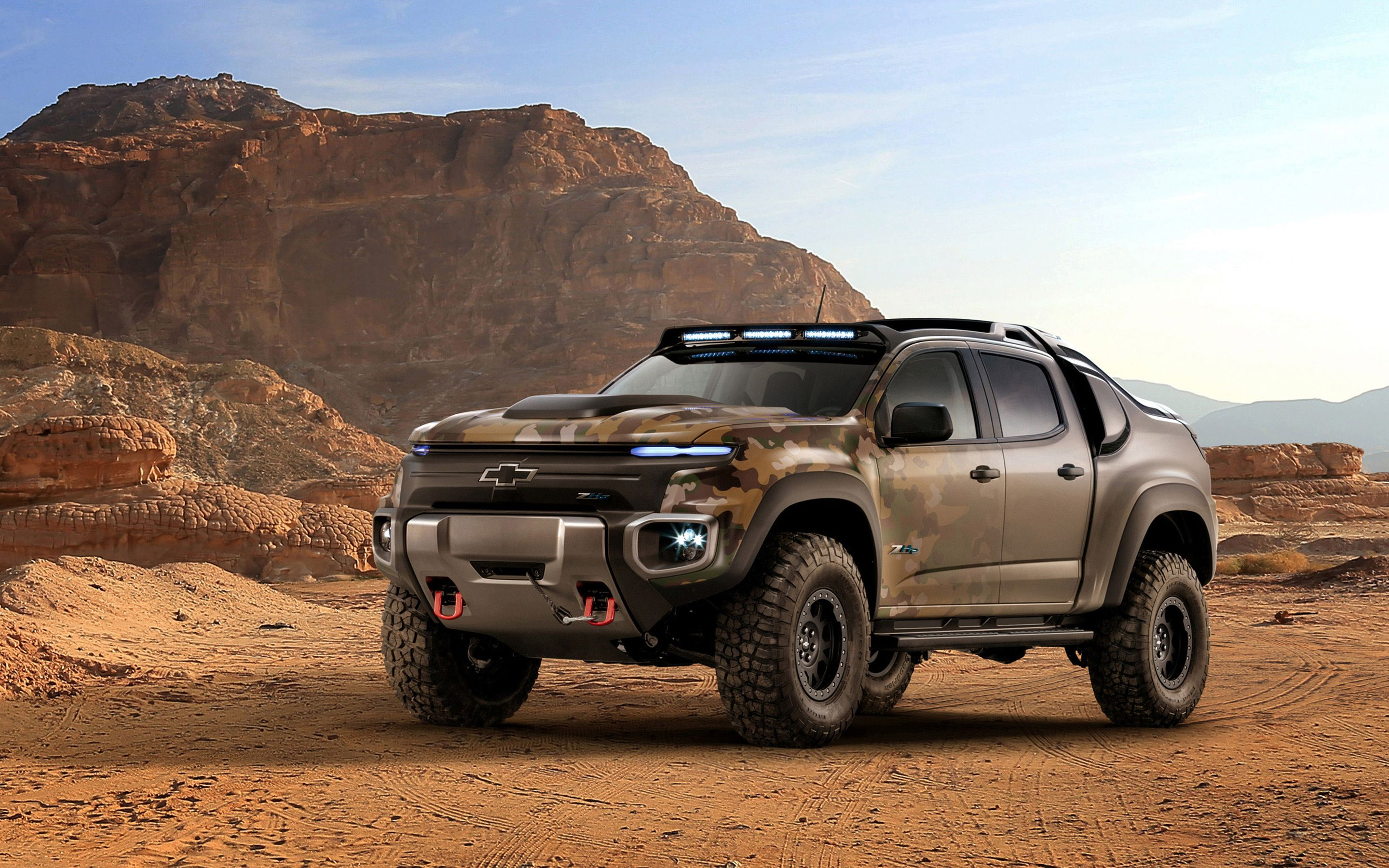 Chevrolet Colorado Zh Fuel Cell Army Truck Wallpaper With Images