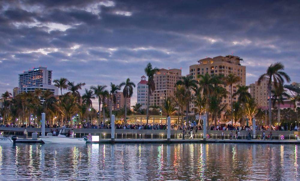 West Palm Beach Waterfront Florida