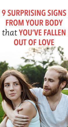 signs that you have fallen out of love