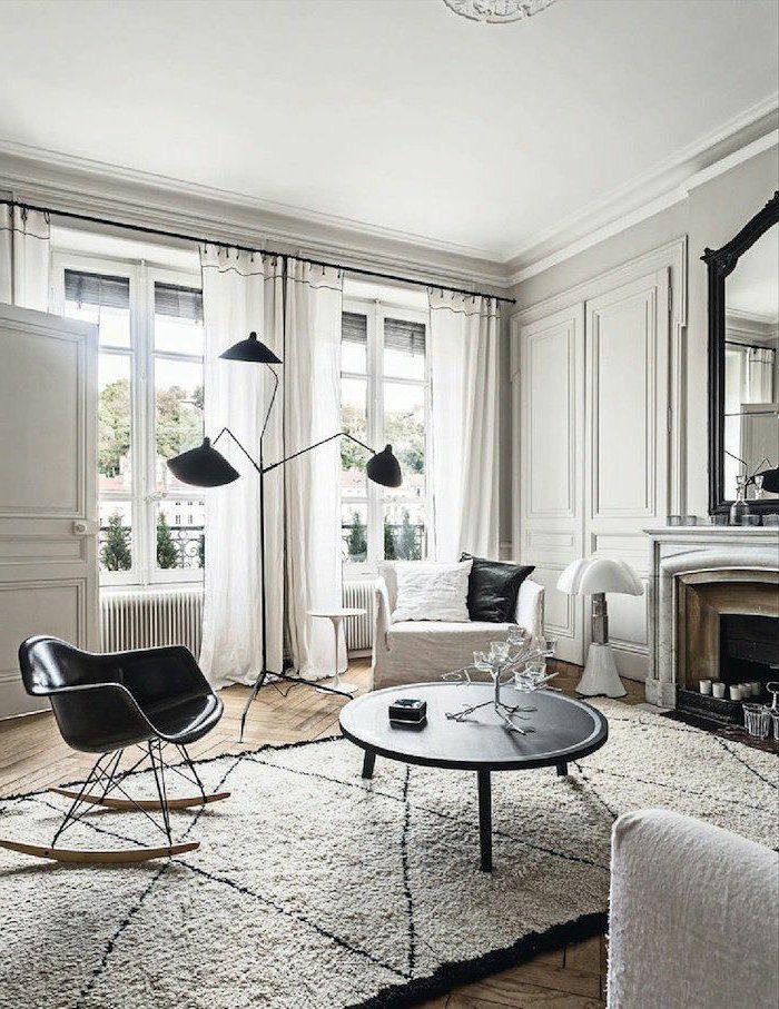 Un Joli Salon De Style élégant Et Meubles Du0027intérieur Modernes Comment  Décorer Son Salon