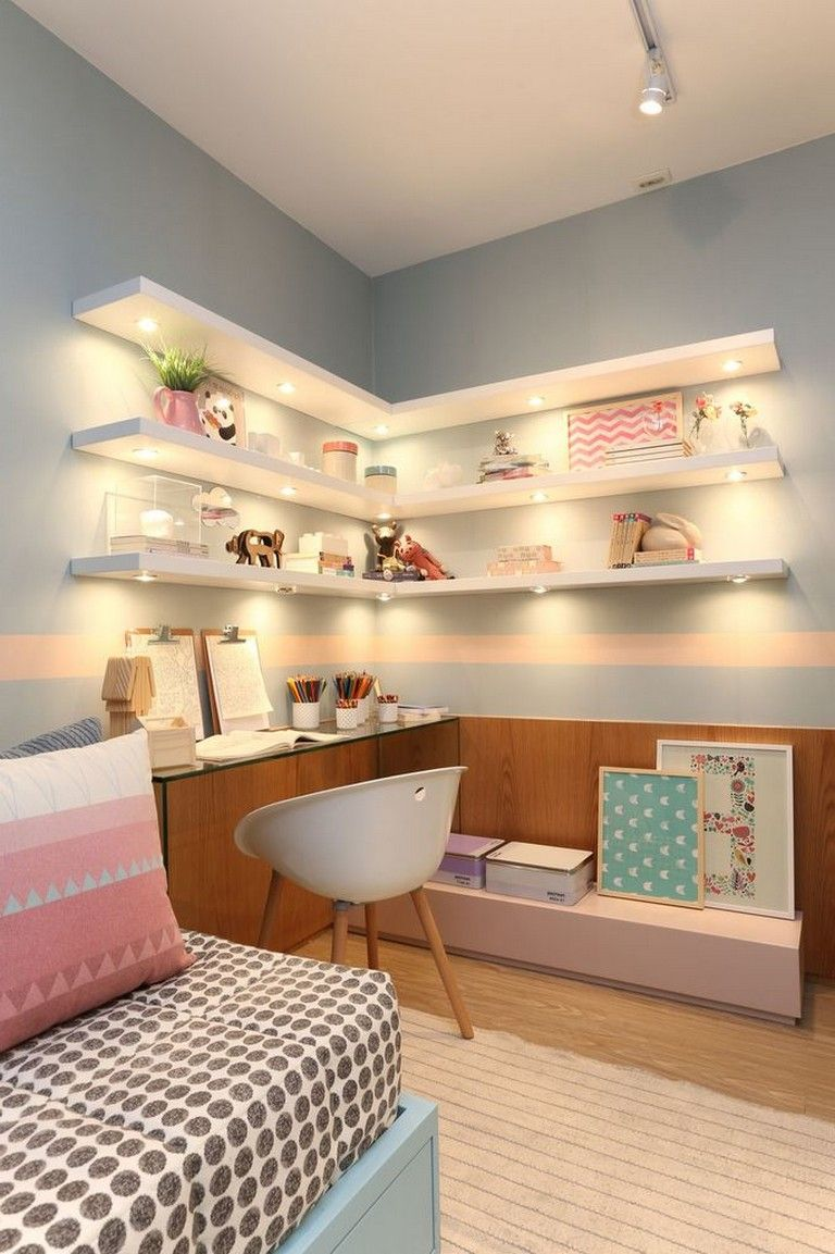 55 Beautiful Bedroom Decor Ideas for Girls Teenage images