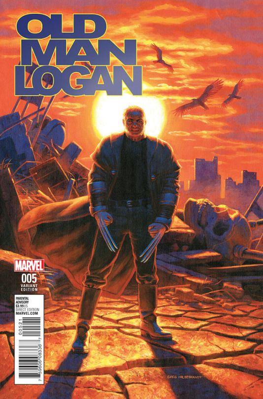 Old Man Logan Vol 2 #5  greg hildebrandt