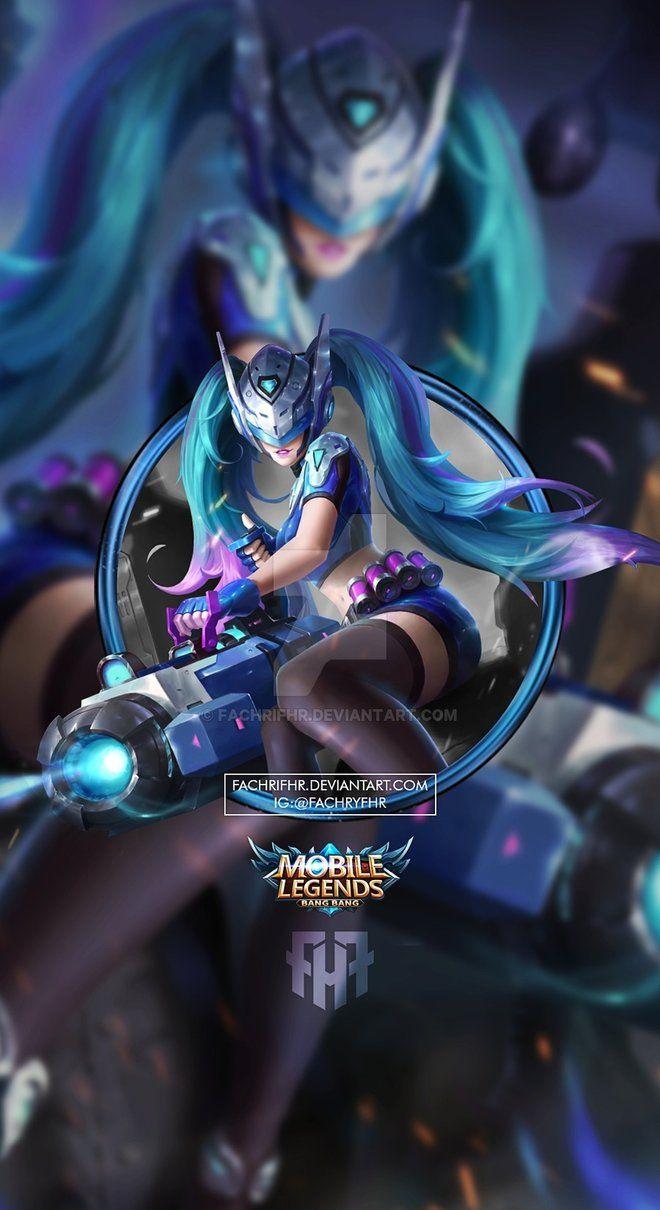 Wallpaper Phone Layla Blue Spectre by FachriFHR on DeviantArt