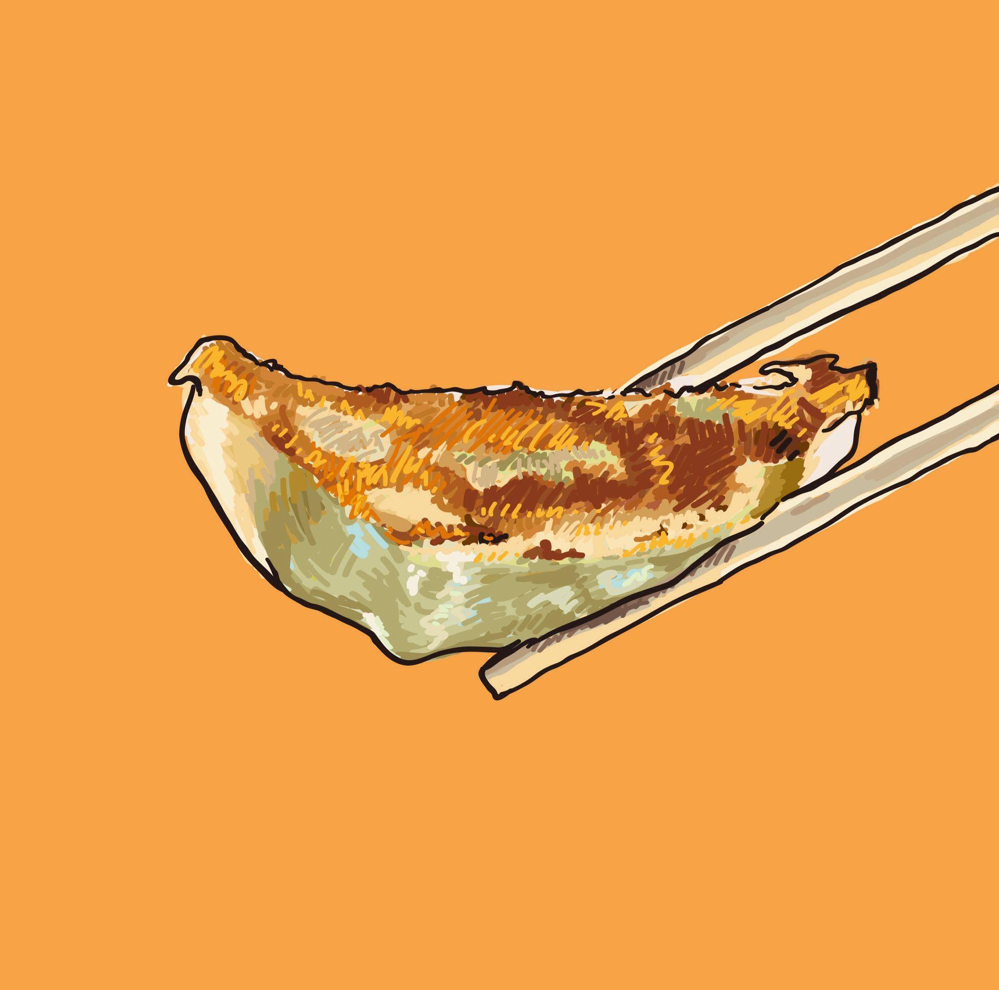 今日のイラストは餃子 Food In 2019 餃子 イラスト 料理イラスト