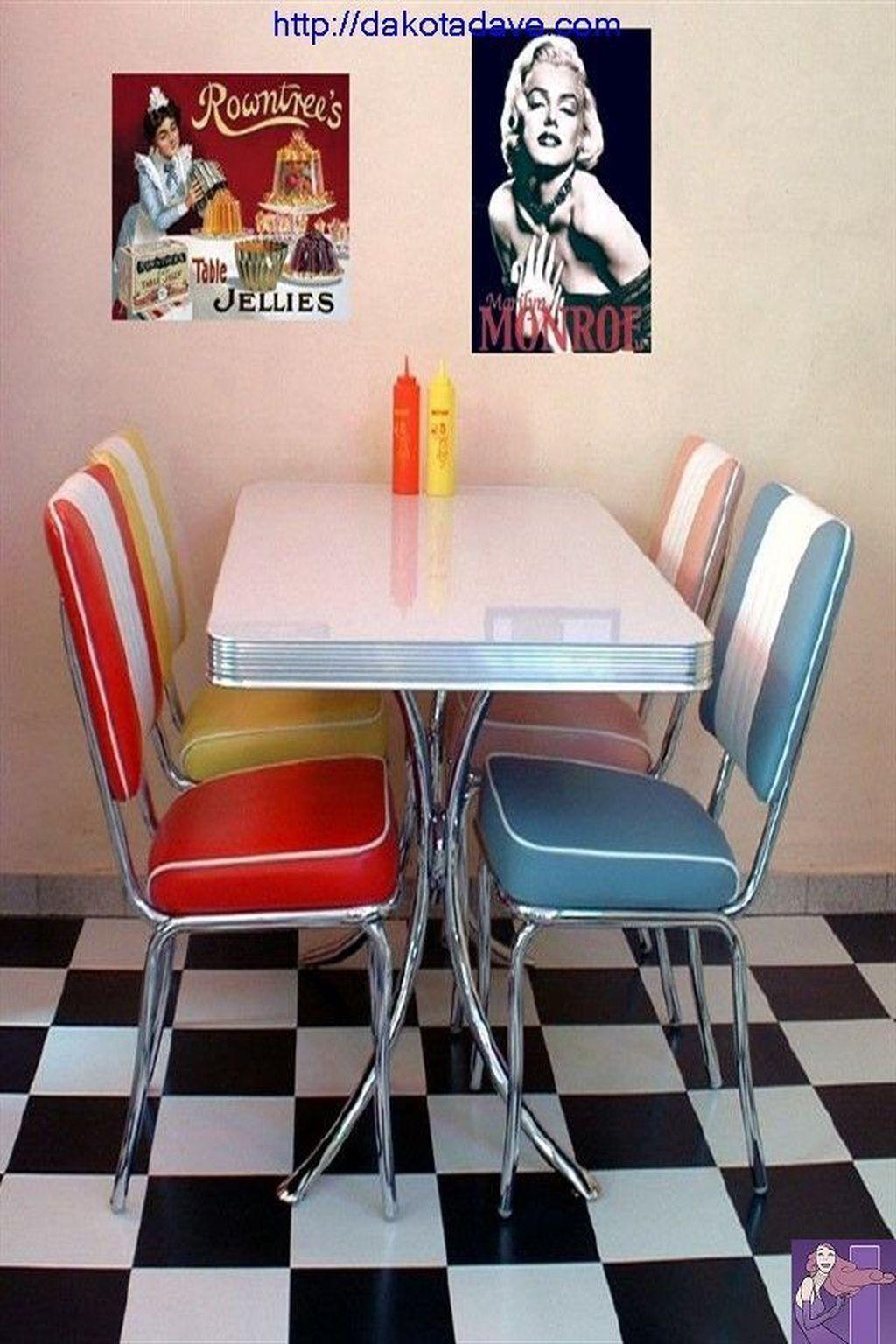Makeup And Age Diner Decor Retro Kitchen Vintage Kitchen