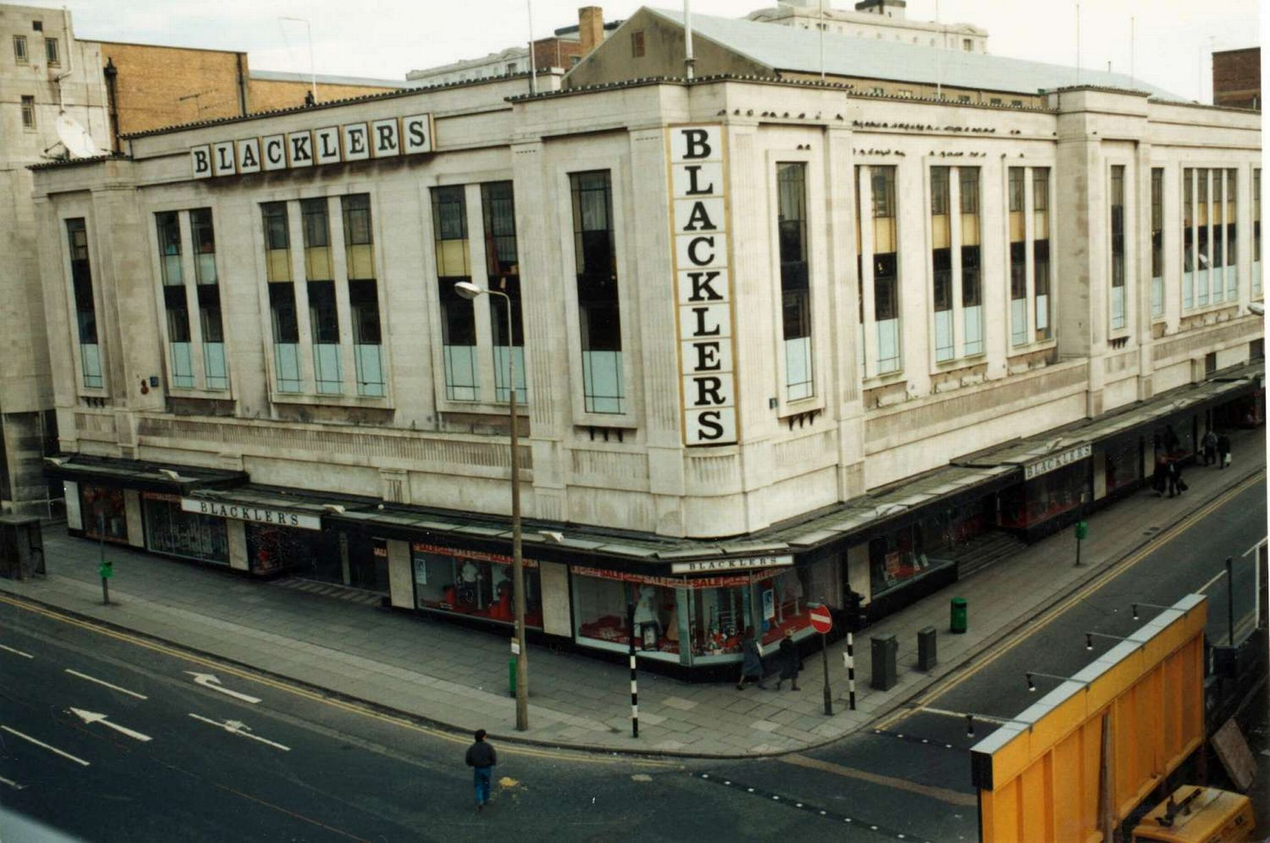 Blacklers department store liverpool liverpool england