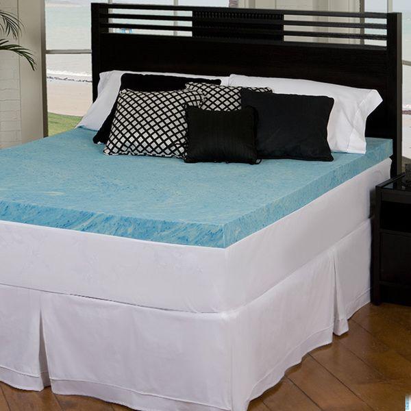3 Inch Gel Memory Foam Mattress Topper mattress matresscover