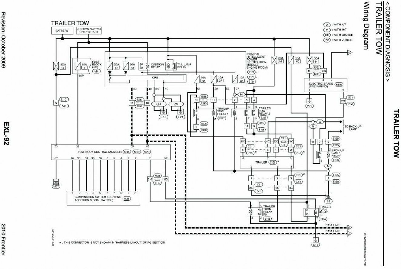 Trailer Wiring Diagram For Nissan Frontier