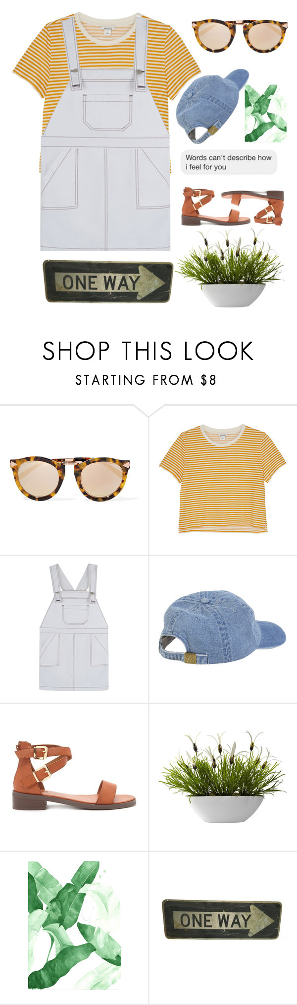 """""""I Finally Came to Love You."""" by anexushill ❤ liked on Polyvore featuring Karen Walker, Monki and Forever 21"""