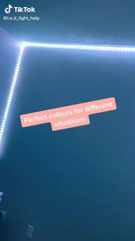 Tikt0k Video Led Lighting Bedroom Led Room Lighting Led Lighting Diy
