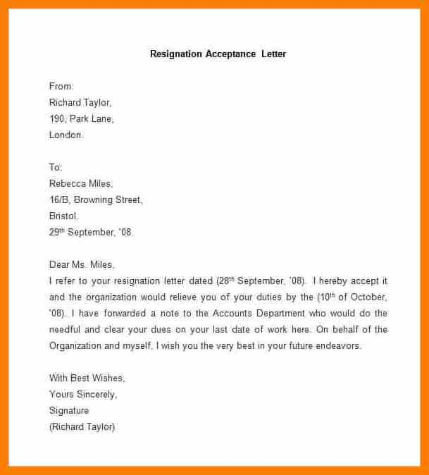 10 resign letter format pdf retail resumes