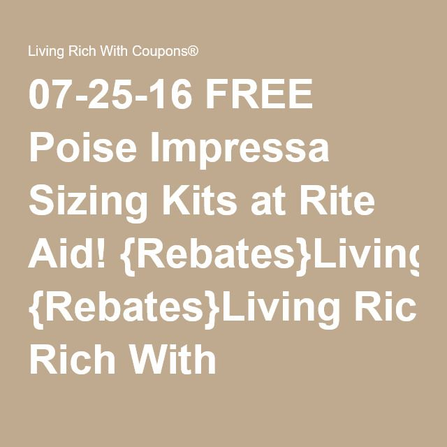 photograph regarding Poise Printable Coupons known as Cost-free Poise Impressa Size Kits at Ceremony Assist! Rebates For