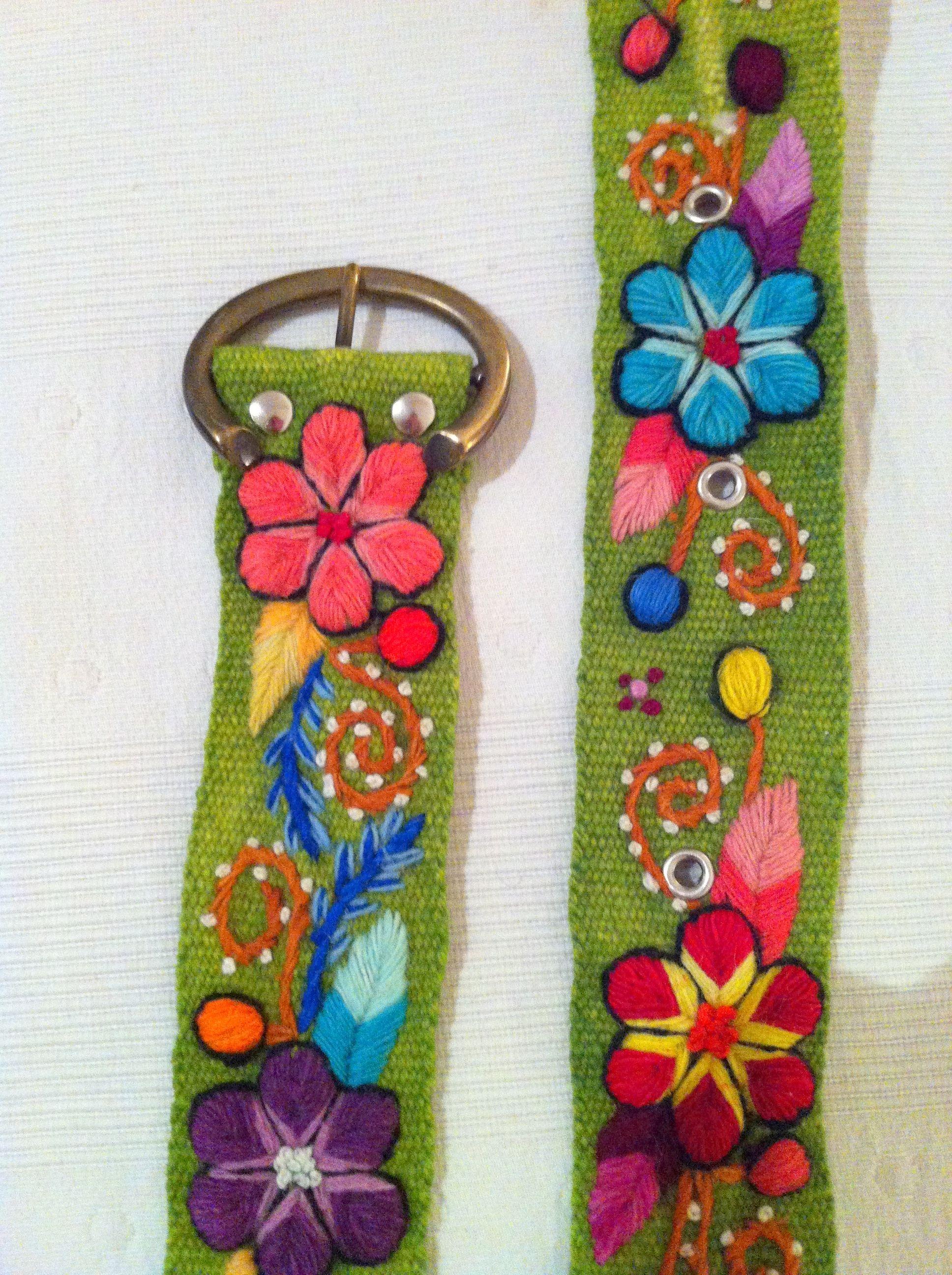 descuento de venta caliente Calidad superior disfruta el precio más bajo cinturon peruano. | embroidery designs | Cinturones bordados ...