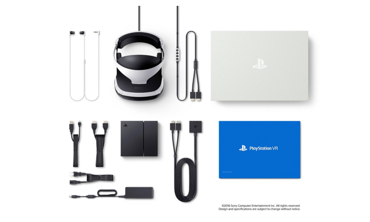Playstation Vr Launch Bundle And Core Headset Sony Playstation Vr Playstation Vr Vr Headset