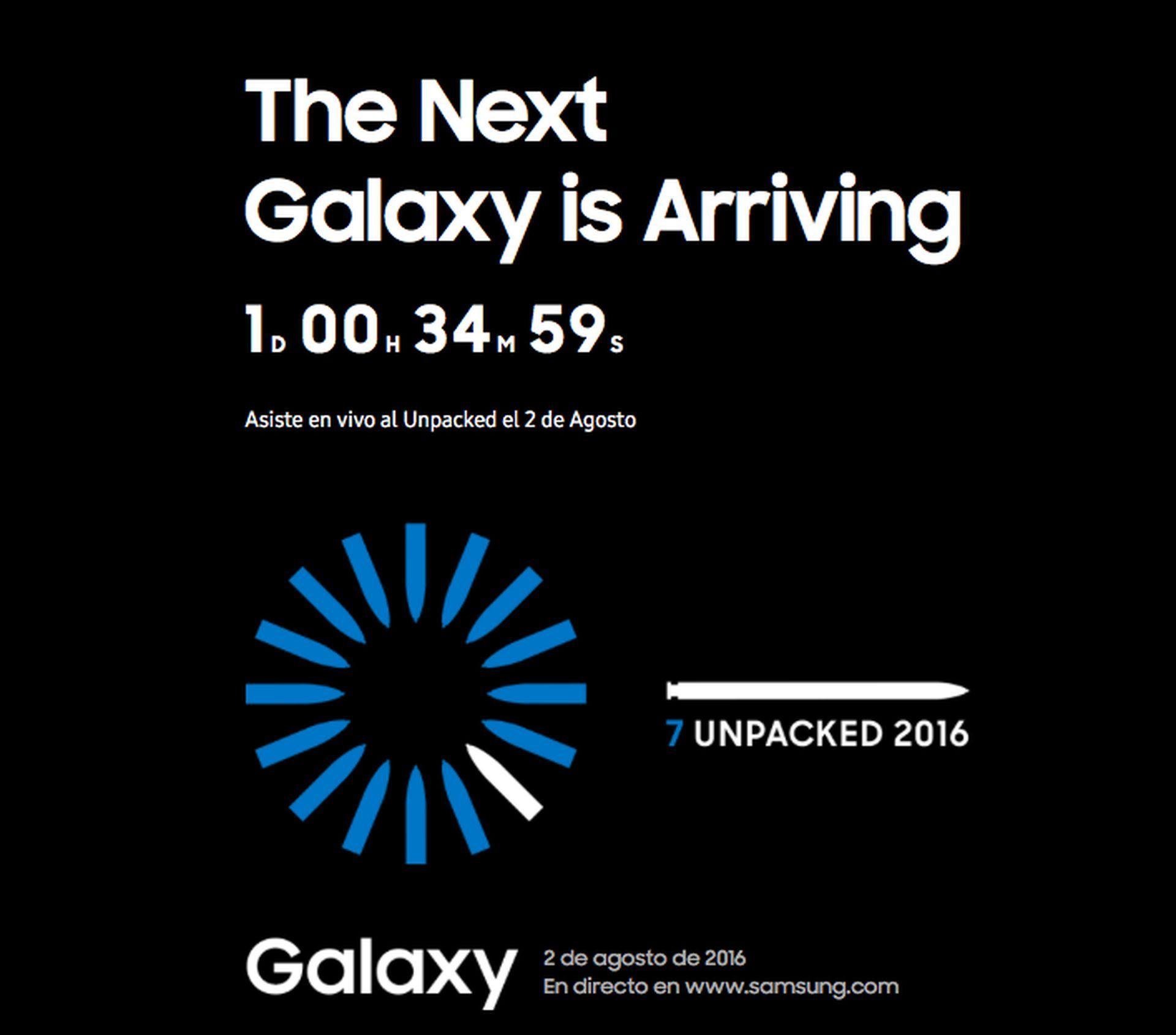 Samsung Galaxy Note 7 Unpacked 2016 en directo desde donde tu quieras - http://www.androidsis.com/samsung-galaxy-note-7-unpacked-2016/