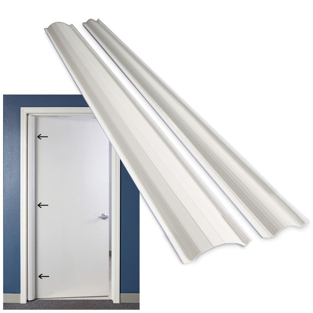 Door Finger Hinge-side Safety Guard Shield Protector White