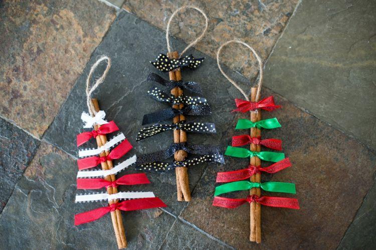 Weihnachtsbasteln Mit Naturmaterialien Dekorationen Aus Zimtstangen Mit Bildern Leichte Weihnachtsbasteleien Weihnachtsschmuck Weihnachtsbasteln Mit Kindern