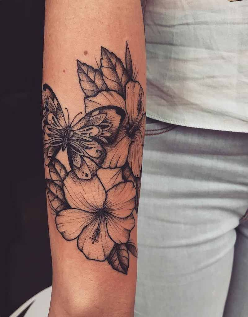 40 Butterfly Cover Up Tattoos - Planet Tattoos
