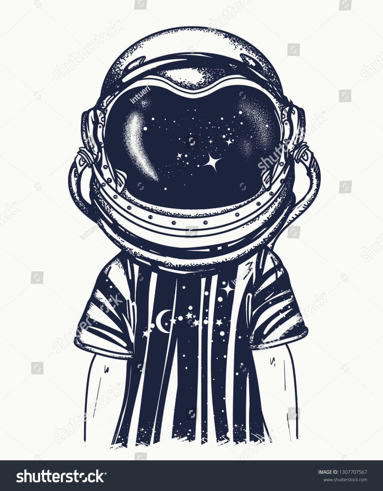 Astronaut Helmet Drawing : astronaut, helmet, drawing, Astronaut, Helmet., Tattoo, T-shirt, Design., Symbol, Imagination,, Education,, Inspiration., Childhood, Drea…, Helmet,, Helmet, Tattoo,, Drawing