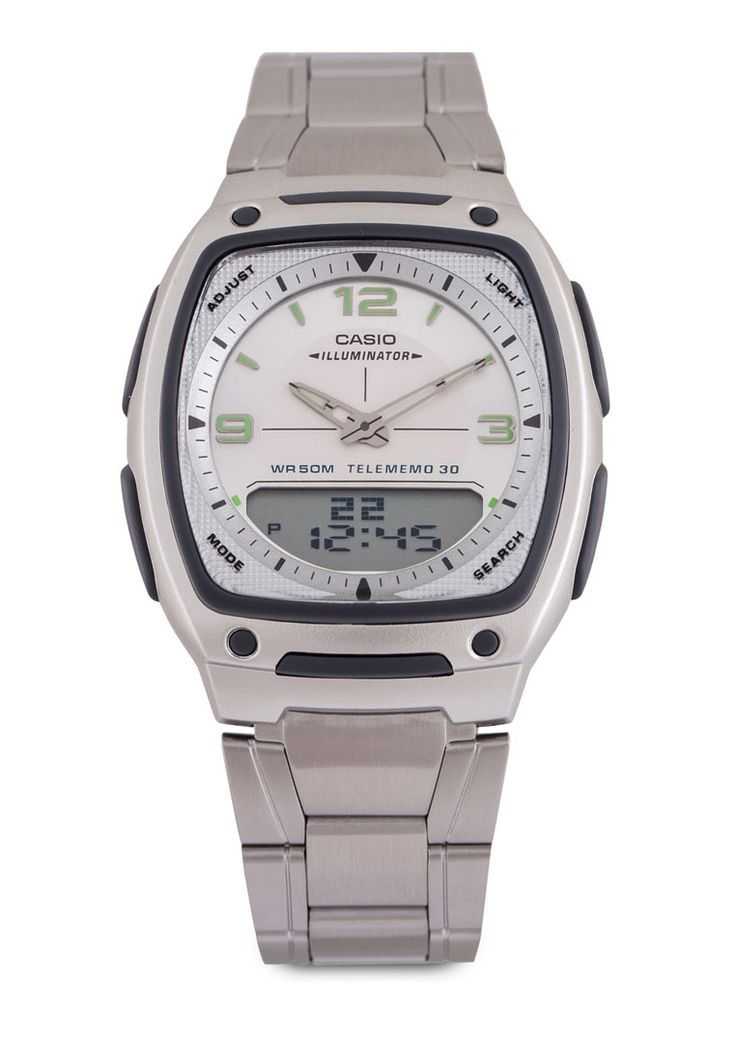 ffea6374c882 Casio Casio Watch AW-81D-7AVDF Silver