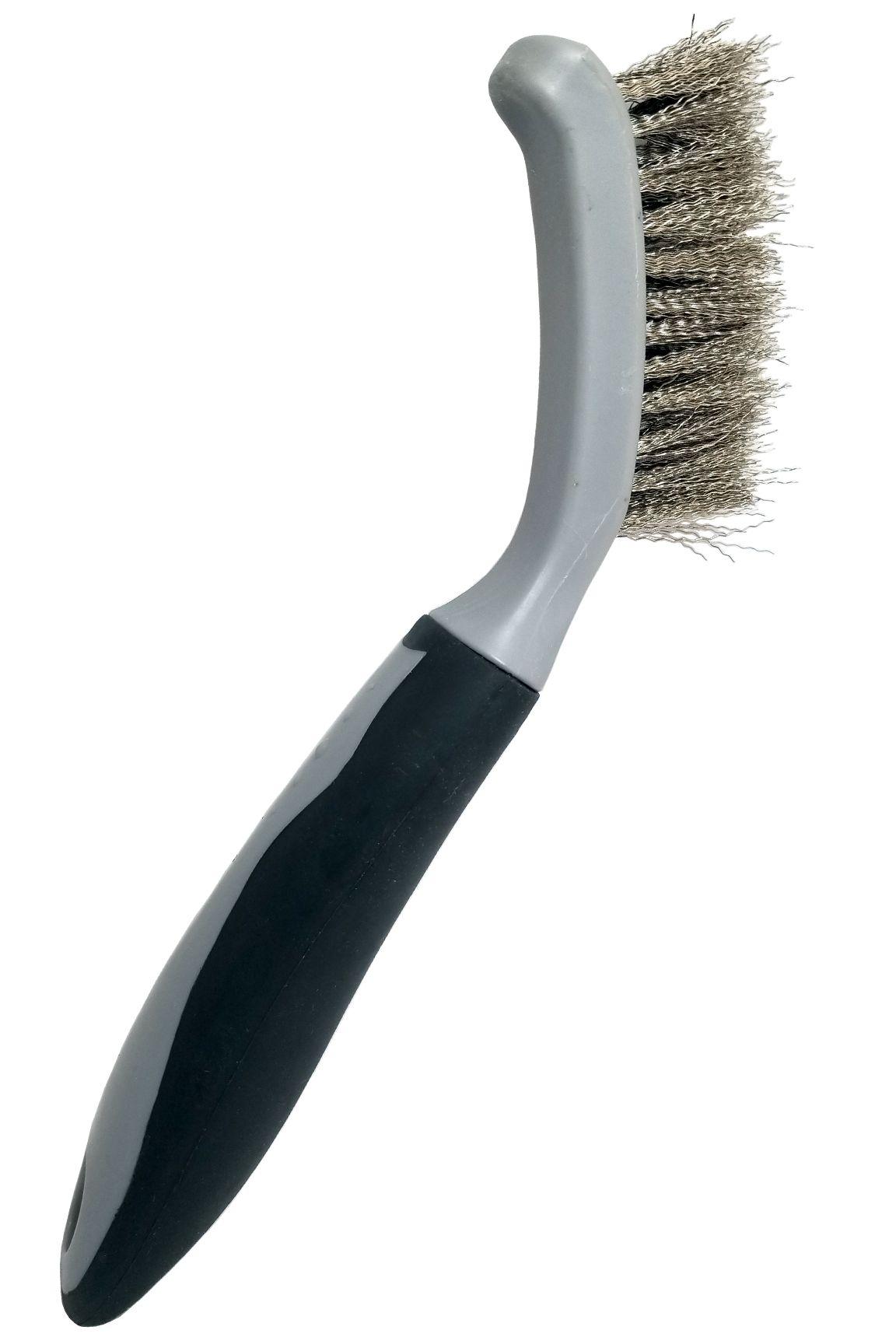Wire Bristle Scrub Brush In 2020 Scrub Brush Stainless Steel Wire Wire Brushes