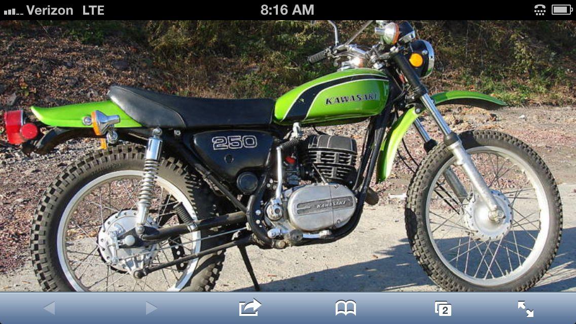 My Kawasaki F11 Pure Vintage Enduro Motorcycle Kawasaki Bikes Kawasaki Motorcycles