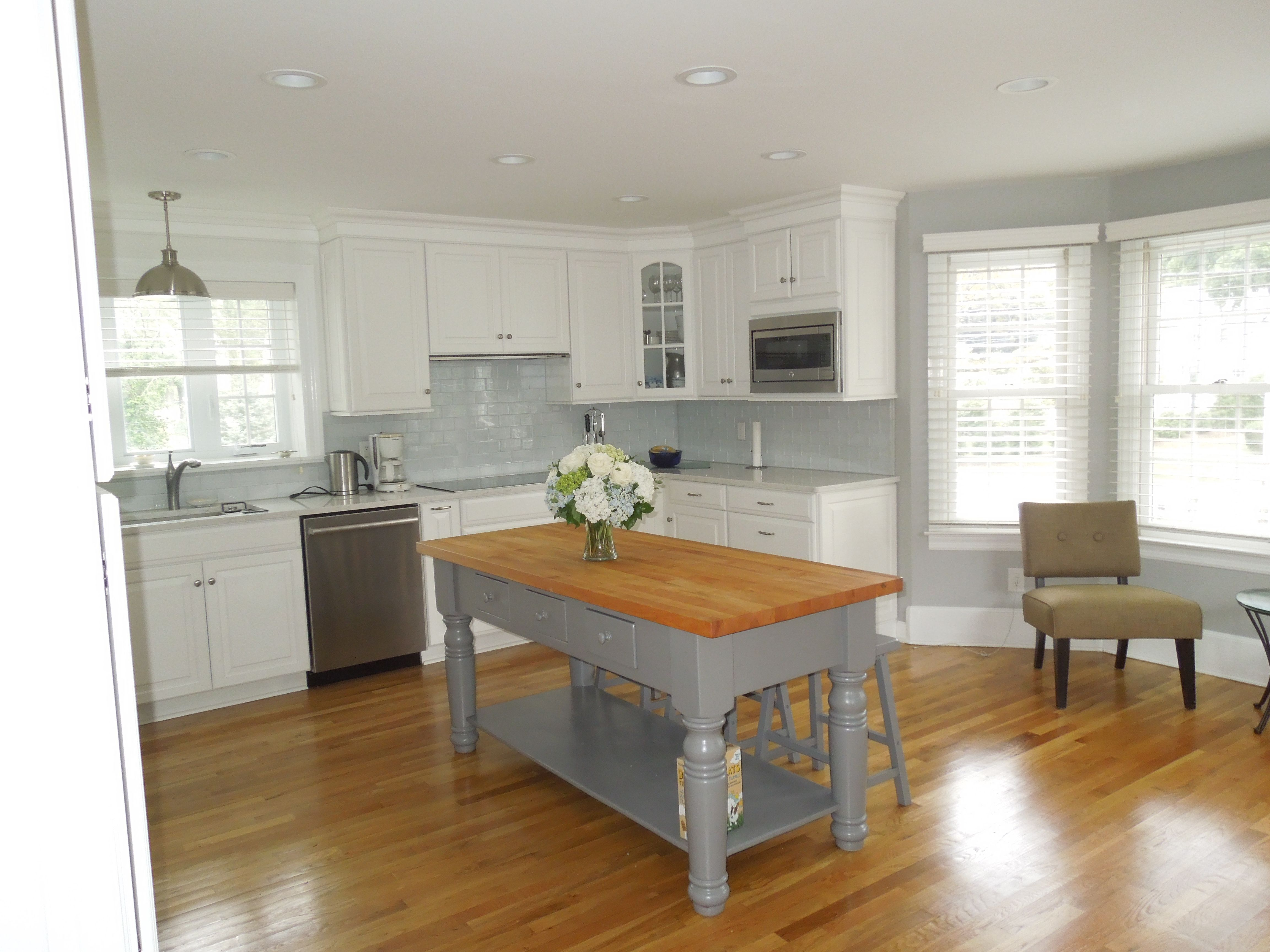 This Kitchen Came Out Beautiful One Of Our Favorites Kitchen Projects Design Woodworking Kitchen Cabinets Kitchen Design