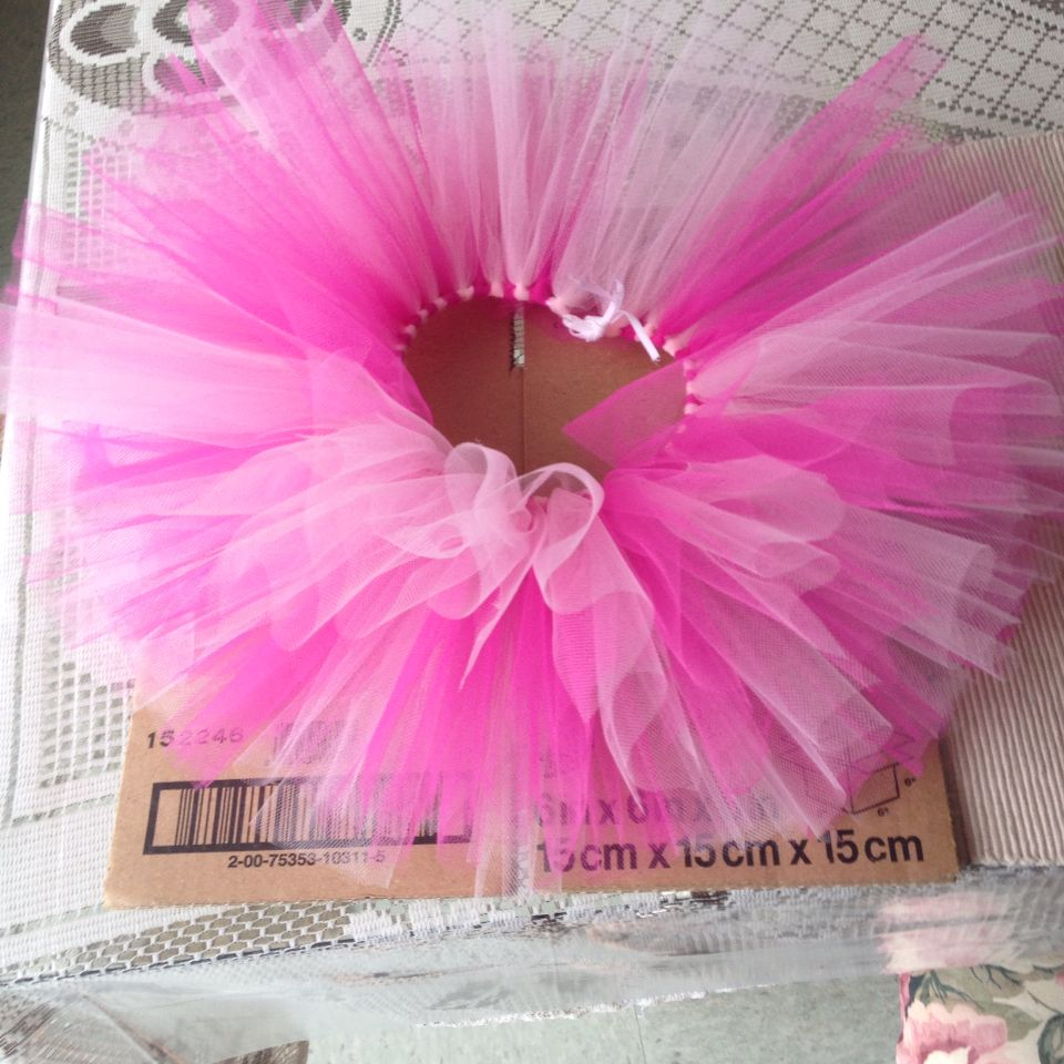 bec11ad24df DIY Newborn Tutu. No sewing.