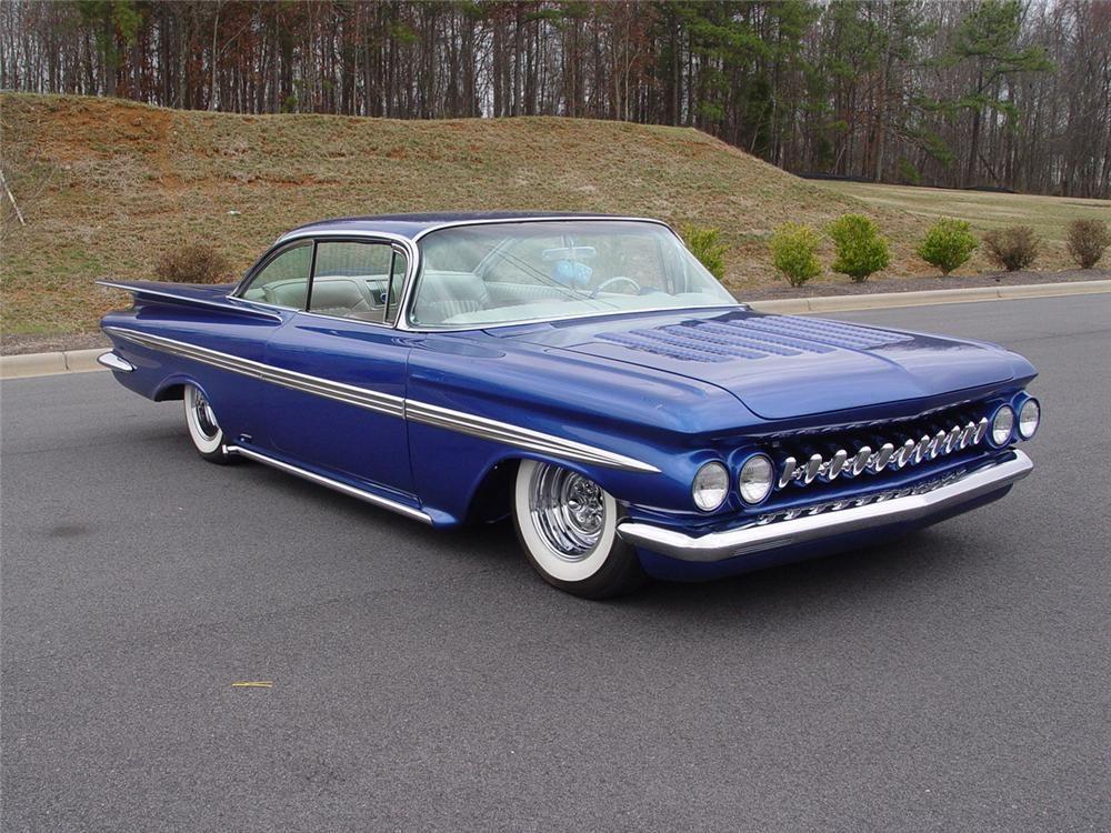 Barrett Jackson Auction Company Chevrolet Impala 1959 Chevy Impala Impala