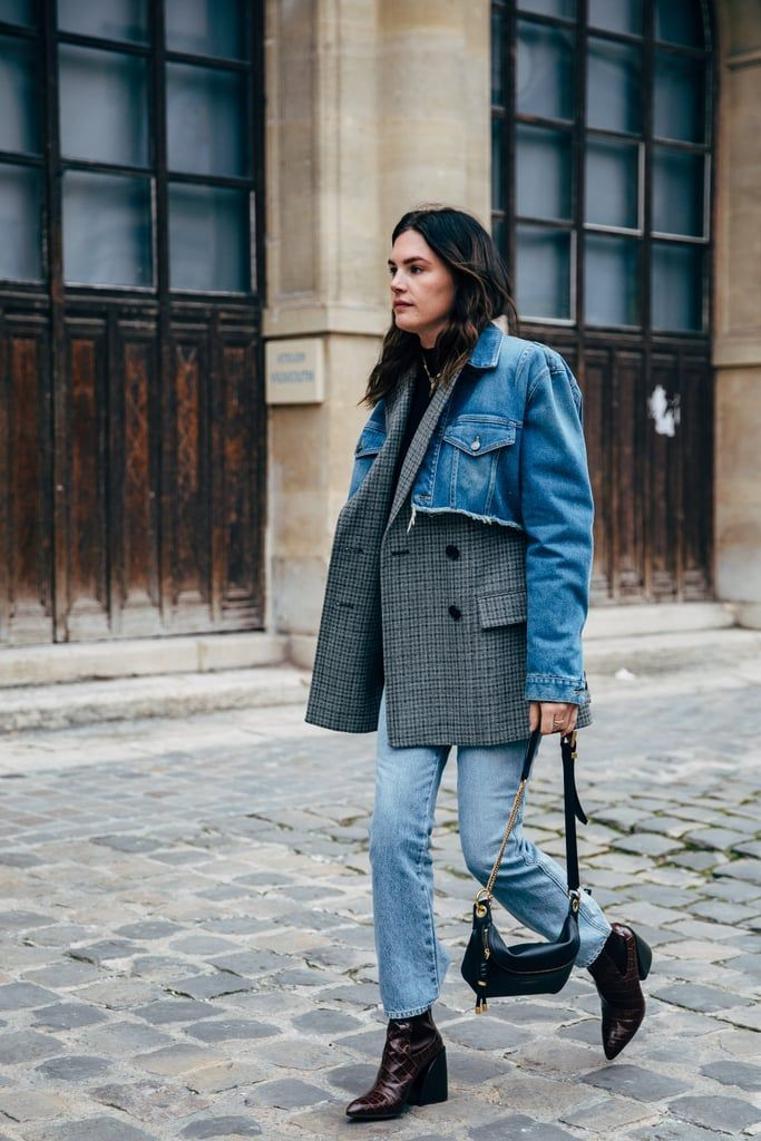 Paris Fashion Week Day 7 #denimstreetstyle