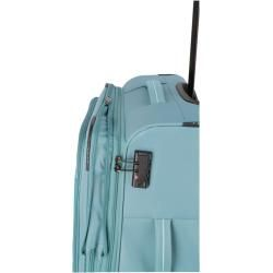 Travelite Arona 4w Trolley M erw. aqua 90248-25 mit 4 Rollen Hüfttasche TraveliteTravelite – Peinados facile