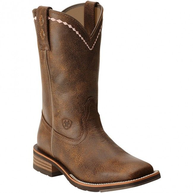 ariat women's leather boots