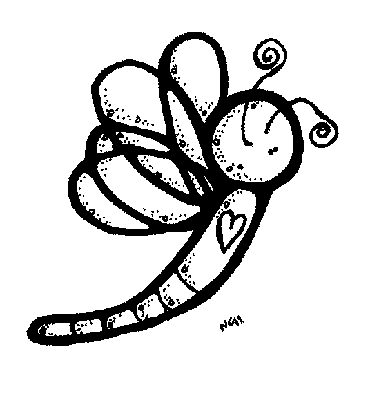 Melonheadz Dragonfly 2 Clipart