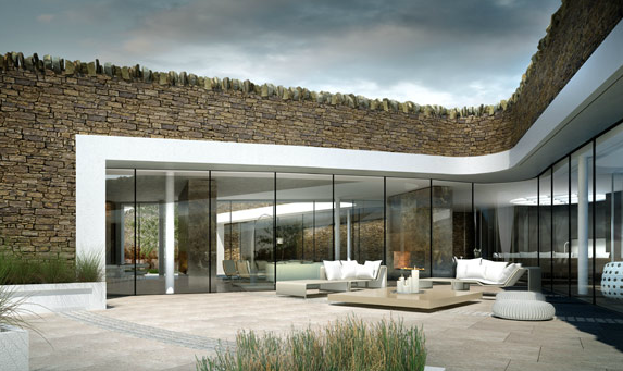 Underground Bolton Eco House In England By Make Architects. Zero Carbon  Property, Has Ground Source Heat Pump, Wind Turbine, Photovoltaic Panels To  Help ... Good Looking